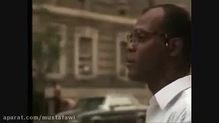 صحنه ای که بروس ویلیس خود را در محله ی سیاه پوستان