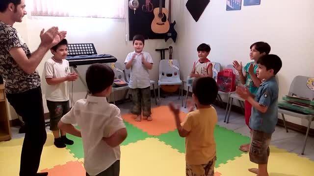 کلاسهای موسیقی کودک (ارف) آموزشگاه موسیقی سما