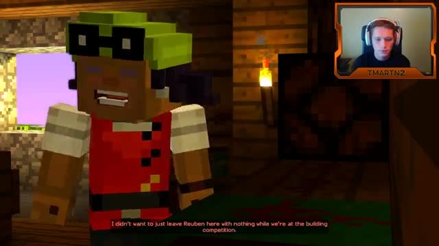Tmartn play minecraft story mode ep1