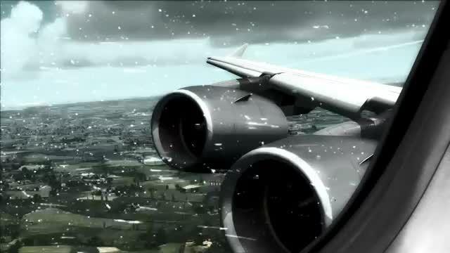 تصاویری حیرت انگیز از فرود ایرباس A380  شبیه ساز الماس