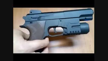روش بازی با تفنگ اسباب بازی عملیات ویژه