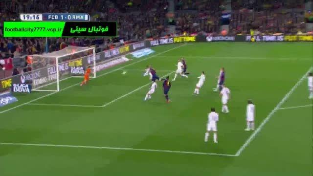 خلاصه بازی بارسلونا 2 - 1 رئال مادرید (لالیگا اسپانیا)