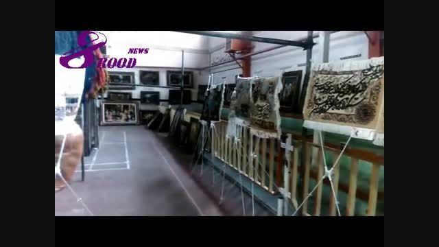 نمایشگاه فرش هشترود افتتاح شد+ عکس و ویدئو