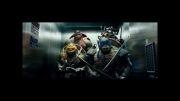 صحنه جالب در فیلم Teenage mutant ninja turtles 2014