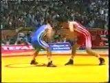 کشتی فینال قهرمانی جهان حاجی زاده تهران 2002