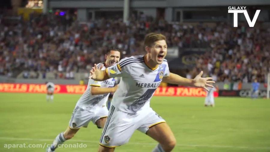 5 شادی بعد از گل برتر لس آنجلس گلکسی در MLS