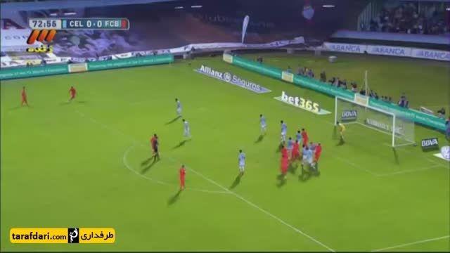 تک گل بازی سلتاویگو 0-1 بارسلونا
