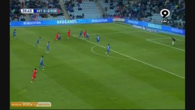 خلاصه بازی : ختافه ۰-۰ بارسلونا