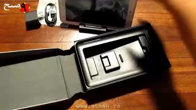 جعبه گشایی تبلت Asus MemoPad 8