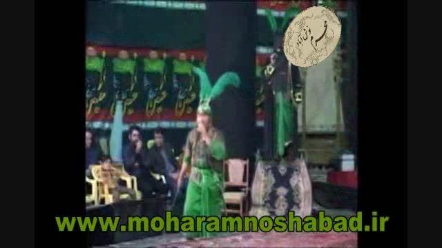 فیلم تعزیه حضرت ابوالفضل(ع).هیئت حضرت ابوالفضل نوش آباد