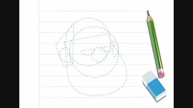 آموزش نقاشی بابانویل