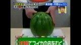 رکورد   سریع پوست کندن هندوانه!!
