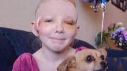نجات دختر بچه توسط سگ وفادارش!!!!