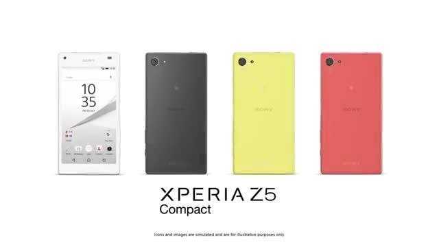 تیزر رسمی xperia z5 compact