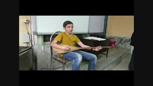 اجرای تلفیقی شعر نو و موسیقی محلی تربت جام (مهرشاد بخشی