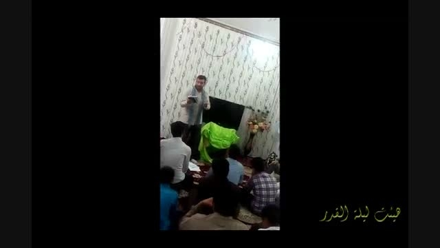 جشن نیمه شعبان آذری سال 94 حاج علی اصغر سلیمانی تراک 4
