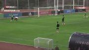 گل دیگو کوستا به ایکر کاسیاس در تمرینات تیم ملی اسپانیا