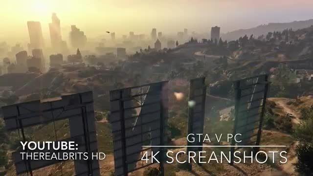 اسکرین شات های 4K/60 fps بازی GTA V PC (مخصوص pc)