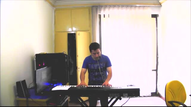 آهنگ سفر کردم و هوس از ( معین )-KORG PA3X - PIANO