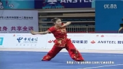 ووشو ، مسابقات داخلی چین ، فینال نن چوون ، لین فن ، مقام اول