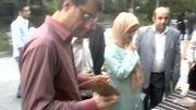 بازدید مقامات شورای شهر تهران از غرفه رامااسپا