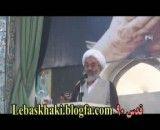 آیت الله معلمی - راهپیمایی روز قدس 90