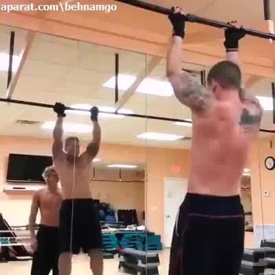 اینجوری ورزش میکنن..!
