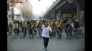 همایش دوچرخه سواری در تهران به روایت تصویر 2