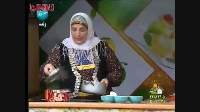 ترش تره آموزش آشپزی فیلم کلیپ گلچین صفاسا
