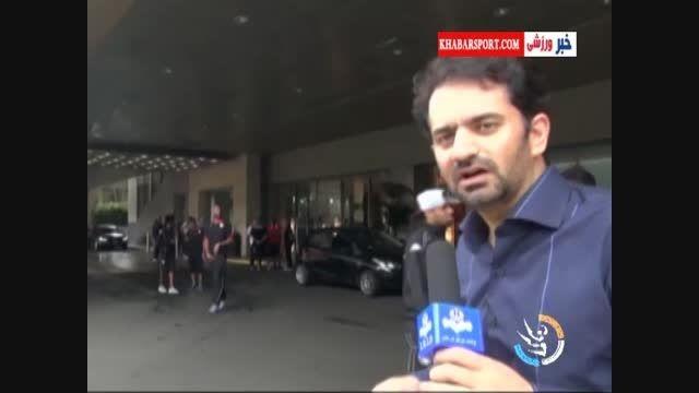 گزارشی از تیم ملی ایران در سیدنی