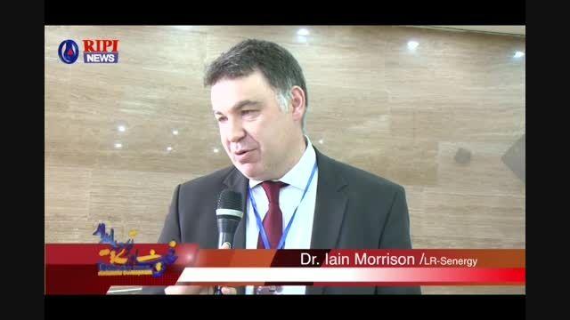 مصاحبه با دكتر Morrison  با واحد خبر پژوهشگاه
