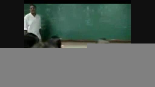 مهیج حرف زدن دانشجو سر کلاس