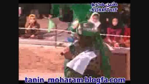 تعزیه حضرت علی اکبر حسن چی 93 شینقر-وداع با علی اصغر