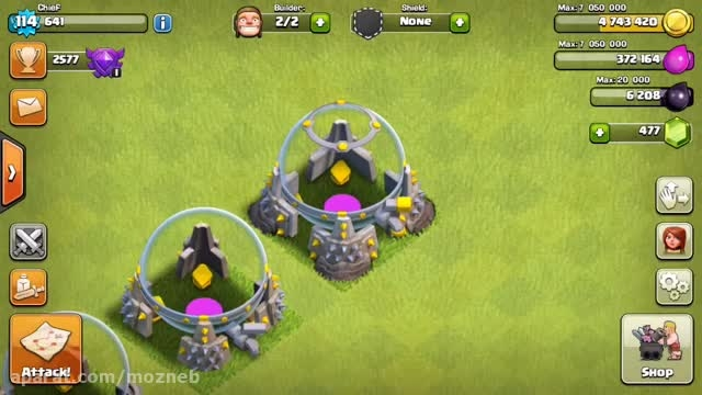 ''...clash of clans new level ''wizard tower - 9 and