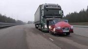 27. کامیون ولوو اف اچ 2013 _ تست ترمز کامیون