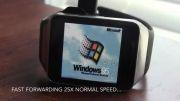 اجرای ویندوز 95 بر روی ساعت هوشمند گلکسی گیر
