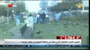 نخستین تصاویر از انفجار نزدیک سفارت ایران در بیروت