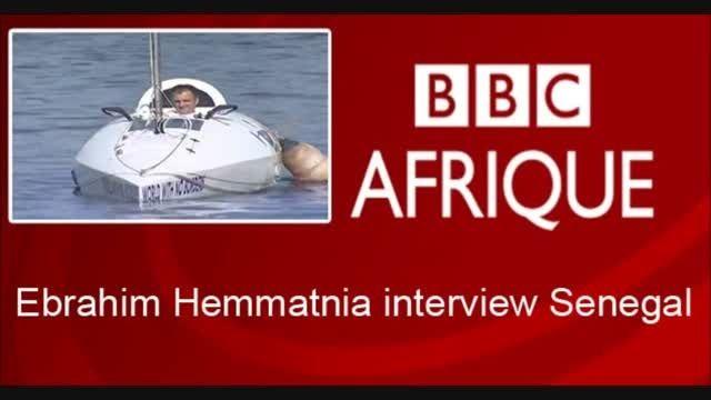 آغاز سفر به دور دنیا توسط قایقچرخ یک ایرانی در سنگال