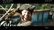 صحنه هایی جذاب از پشت صحنه دزدان دریایی کارائیب 4