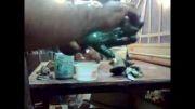 فایل22از23-آموزش ساخت مجسمه3تکه دیواری-پتینه مسی دست ها