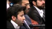 شعرخوانی حسن لطفی در محضر رهبر انقلاب