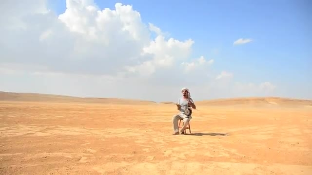 کمانچه و گیتار آذری _ Raining In The Desert