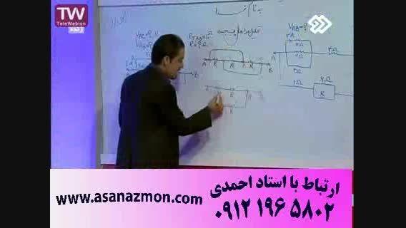 تدریس تکنیکی و حل تست امپراطور فیزیک - کنکور 3