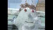 دهاقان برف زمستانی 32 سانتی متر