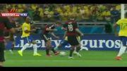 (تحقیر برزیل به دست آلمان) آلمان ۷-۱ برزیل