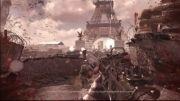 خراب شدن برج ایفل در Call of Duty MW3