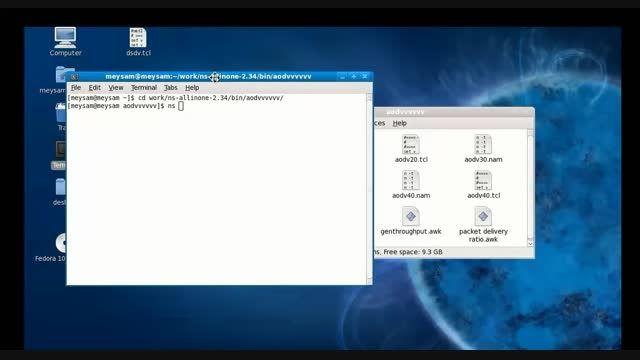 شبیه سازی شبکه با NS2
