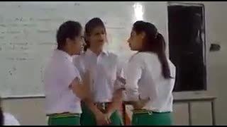دعوا در مدرسه دخترانه