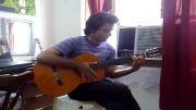 دانلود کلیپ گیتار زدن زیبای پدرام باقرزاده