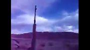 شلیك نظامی آمریكایی با تك تیر انداز دراگانو اسقاطی دربوداغون